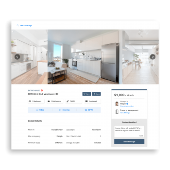 What your listing can look like